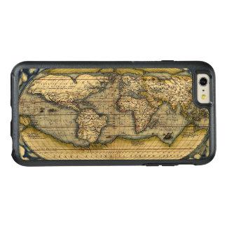 Mapa del mundo antiguo funda otterbox para iPhone 6/6s plus