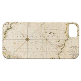 Mapa del mundo antiguo iPhone 5 carcasa