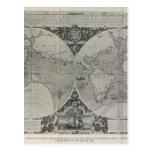 Mapa del mundo antiguo - mapas viejos de Asia Postal
