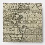 Mapa del mundo antiguo por Sebastian Münster circa