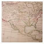 Mapa del mundo antiguo tejas  ceramicas