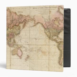 """Mapa del mundo carpeta 1 1/2"""""""
