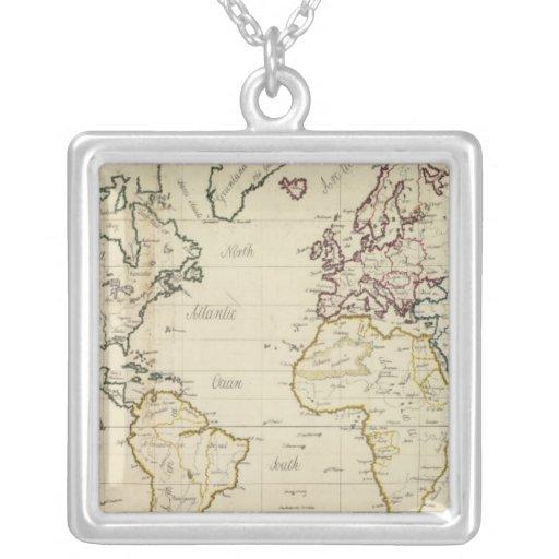 Mapa del mundo colgante