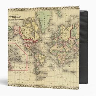 Mapa del mundo con las rutas marítimas de los expl