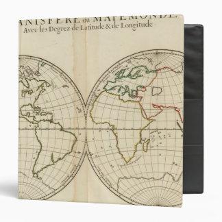 Mapa del mundo con latitud y Longititude