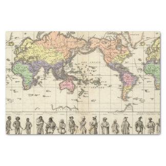 Mapa del mundo de los estilos de la ropa
