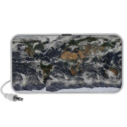 Mapa del mundo de MODIS iPod Altavoces