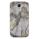 Mapa del mundo del atlas del vintage