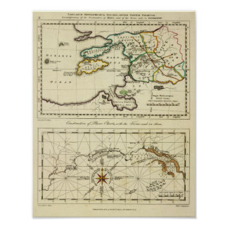 Mapa del mundo del espécimen del geographicarum de impresiones