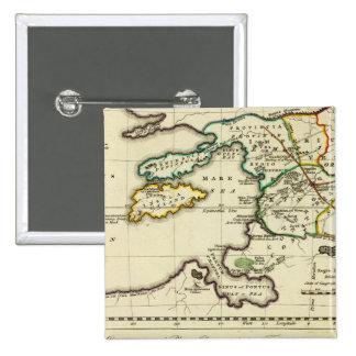 Mapa del mundo del espécimen del geographicarum de pin