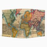 """Mapa del mundo del vintage carpeta 2"""""""