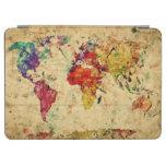 Mapa del mundo del vintage cover de iPad air
