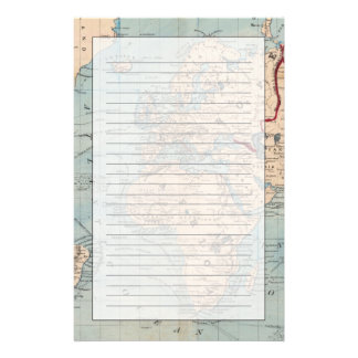 Mapa del mundo en la proyección de Mercator Papeleria De Diseño