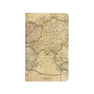 Mapa del mundo en la proyección de Mercators Cuadernos