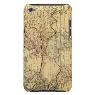 Mapa del mundo en la proyección de Mercators Funda Case-Mate Para iPod