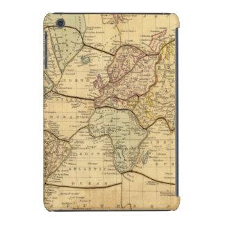 Mapa del mundo en la proyección de Mercators Funda Para iPad Mini