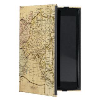 Mapa del mundo en la proyección de Mercators iPad Mini Funda