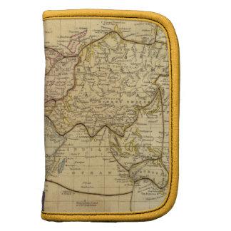 Mapa del mundo en la proyección de Mercators Organizadores