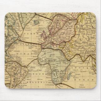 Mapa del mundo en la proyección de Mercators Alfombrilla De Raton