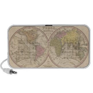 Mapa del mundo en la proyección globular 2