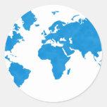 Mapa del mundo etiquetas