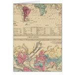 Mapa del mundo felicitaciones