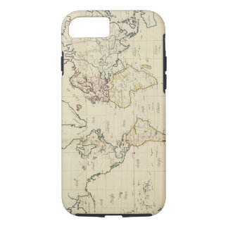 Mapa del mundo funda iPhone 7