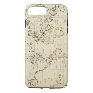 Mapa del mundo funda iPhone 7 plus