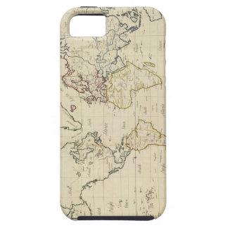Mapa del mundo funda para iPhone SE/5/5s