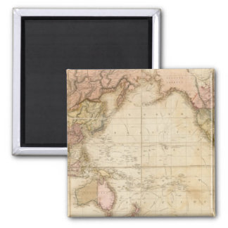 Mapa del mundo imán para frigorifico
