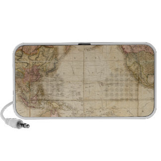 Mapa del mundo iPhone altavoces