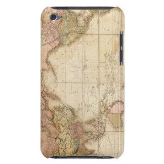 Mapa del mundo iPod touch fundas