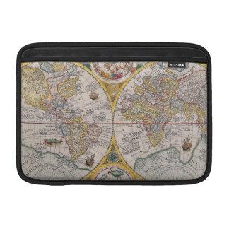 Mapa del mundo medieval a partir de 1525 fundas MacBook