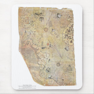 Mapa del mundo Mousepad de Piri Reis Alfombrilla De Ratón