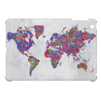 Mapa del mundo, pintura de la acción