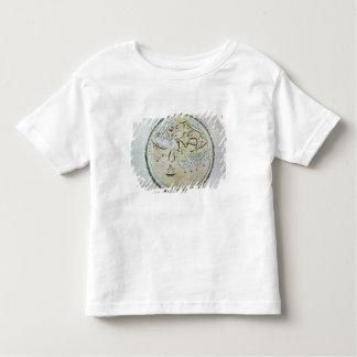Mapa del mundo playera de bebé