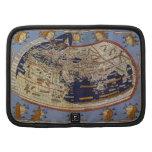 Mapa del mundo Ptolemaic antiguo del vintage, 1482 Organizador