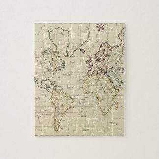 Mapa del mundo puzzle