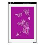 Mapa del mundo rosado consola PS3 skin