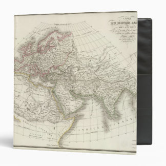 """Mapa del mundo sabido a los ancients carpeta 1 1/2"""""""