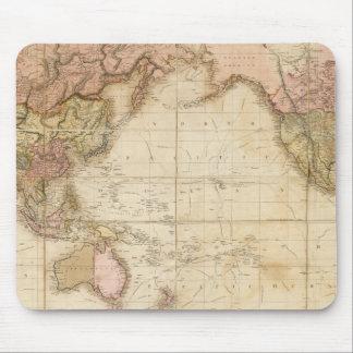 Mapa del mundo tapete de ratones