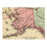 Mapa del nanovatio América de Mitchell Postal