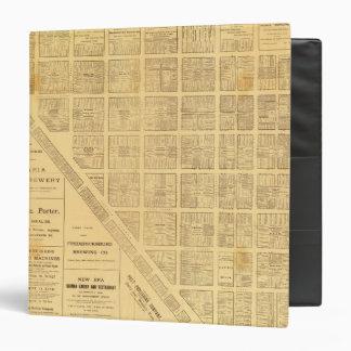"""Mapa del negocio de San Francisco Carpeta 1 1/2"""""""