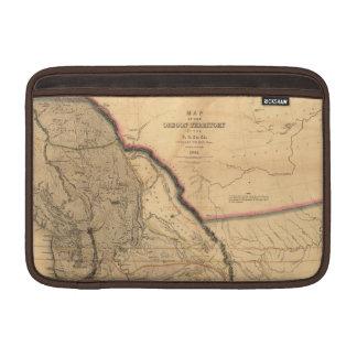 Mapa del noroeste pacífico 1841 de Oregon del Fundas MacBook