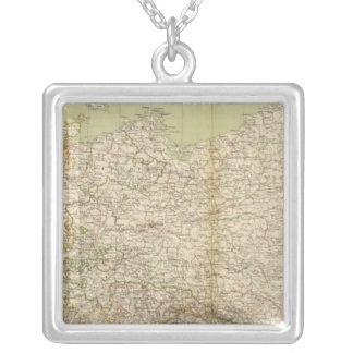 Mapa del norte del atlas de Alemania Colgante