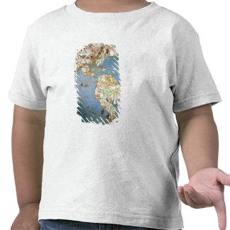 Mapa del norte y de Suramérica Camiseta