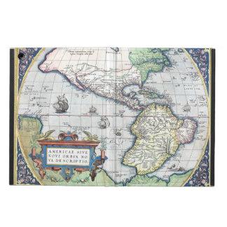 Mapa del nuevo mundo 1570 de Américas