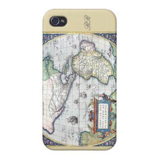 Mapa del nuevo mundo 1570 de Américas iPhone 4 Coberturas