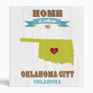 Mapa del Oklahoma City Oklahoma - casero es donde
