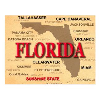 Mapa del orgullo del estado de ciudades y de los postales